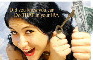 A self-directed IRA gives you options!